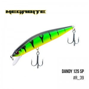 Воблер Megabite Dandy 125 SP R39