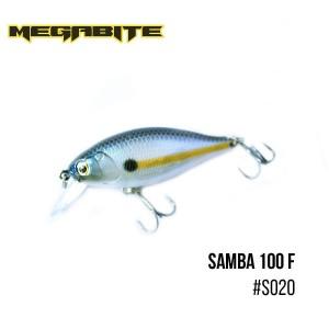 Воблер Megabite Samba 100 F S020