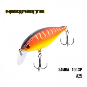 Воблер Megabite Samba 100 SP 25
