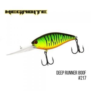 Воблер Megabite Deep Runner 800 F