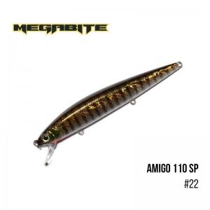 Воблер Megabite Amigo 110 SP 22