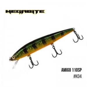 Воблер Megabite Amigo 110 SP 244