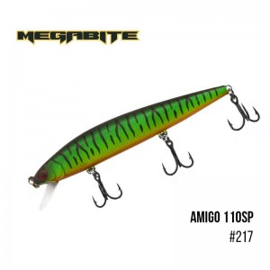 Воблер Megabite Amigo 110 SP 217