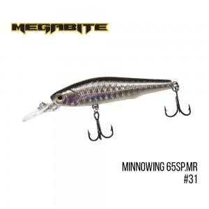 Воблер Megabite Minnowing 65 SP MR 31