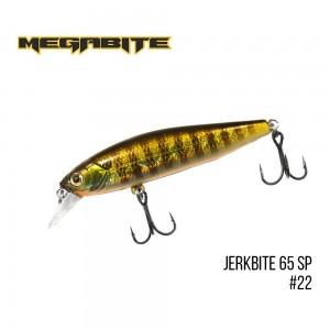 Воблер Megabite Jerkbite 65 SP 22
