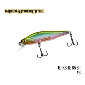 Воблер Megabite Jerkbite 65 SP 6