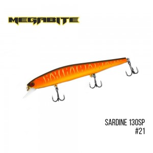 Воблер Megabite Sardine 130SP 21