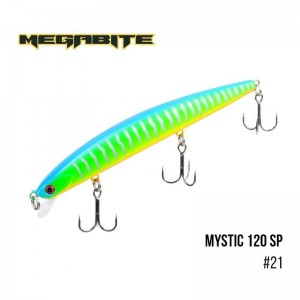 Воблер Megabite Mystic 120 SP 21