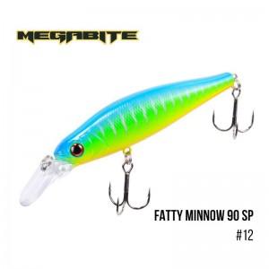 Воблер Megabite Fatty Minnow 90 SP 12