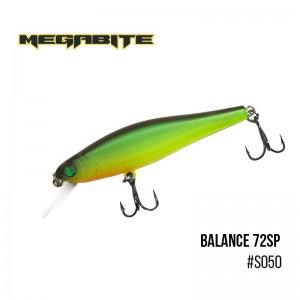 Воблер Megabite Balance 72 SP S050