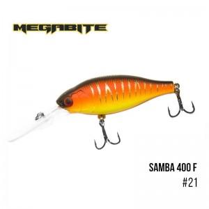 Воблер Megabite Samba 400 F 21