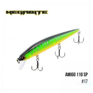 Воблер Megabite Amigo 110 SP 17