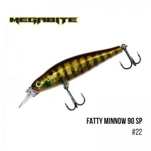 Воблер Megabite Fatty Minnow 90 SP 22