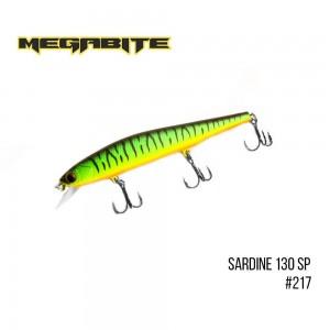 Воблер Megabite Sardine 130SP 217