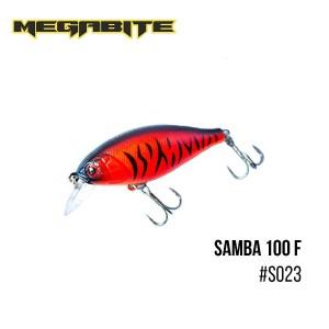 Воблер Megabite Samba 100 F S023