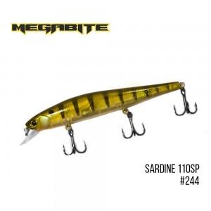 Воблер Megabite Sardine 110SP 244