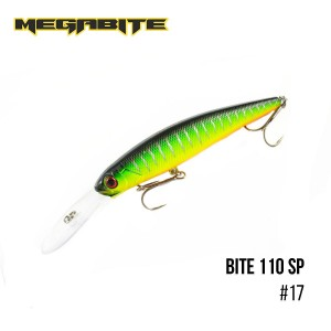 Воблер Megabite Bite 110 SP 17