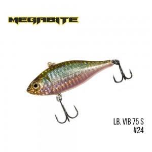Воблер Megabite LB VIB 75 S Sinking 24