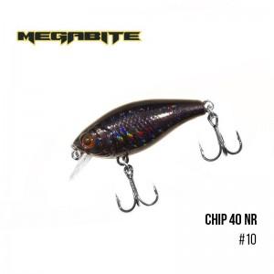 Воблер Megabite Chip 40 F MR 10