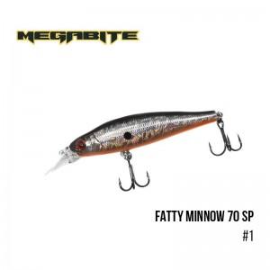 Воблер Megabite Fatty Minnow 70 SP 1