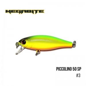 Воблер Megabite Piccolino 50 SP 3