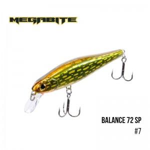 Воблер Megabite Balance 72 SP 7