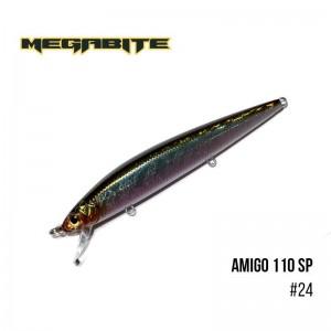 Воблер Megabite Amigo 110 SP 24
