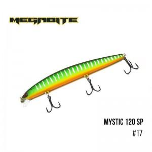 Воблер Megabite Mystic 120 SP 17