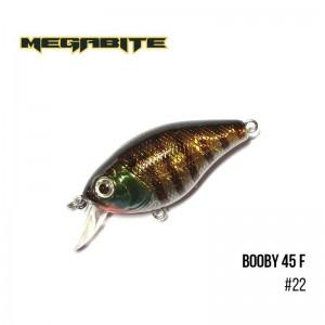 Воблер Megabite Booby 45 F 22