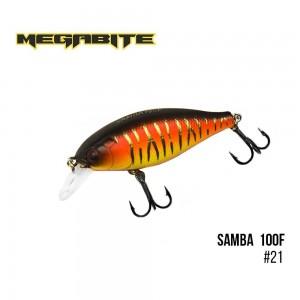 Воблер Megabite Samba 100 F 21