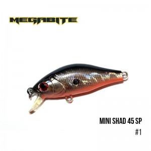 Воблер Megabite Mini Shad 45 SP 1